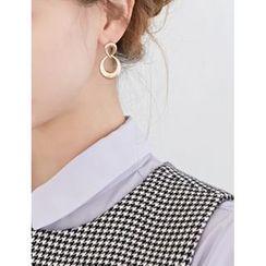 FROMBEGINNING - Metallic Dangle Earrings