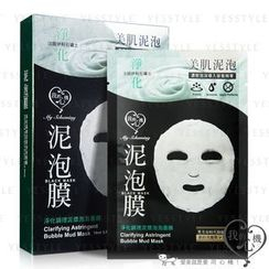 My Scheming - Clarifying Astringent Bubble Mud Mask