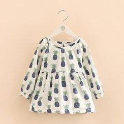 Seashells Kids - Kids Pineapple Print Tunic