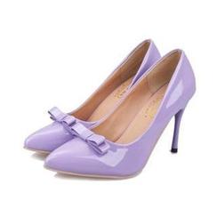 HOONA - 饰结漆皮高跟鞋