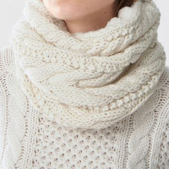 Rooftop Sonata - Cable Knit Neck Warmer