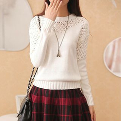 Autunno - Open-Knit Sweater