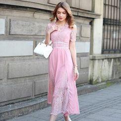 Hanni - Lace Maxi Dress
