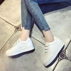 Raylove - Platform Velcro Sneakers