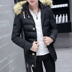 Wild Dragon - Hooded Padded Coat