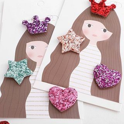 Chapa - Kids Sequined Hair Bang Velcro