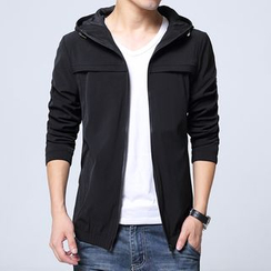Bay Go Mall - Hooded Zip Jacket