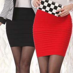 ENZA - Plain Mini Skirt