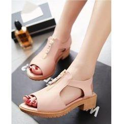 TULASI - Peep-toe Sandals