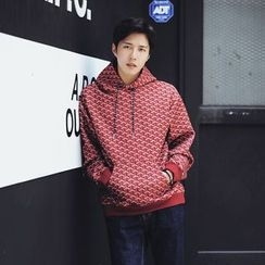 MEING - Printed Hooded Pullover