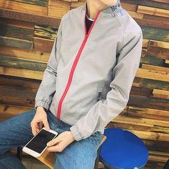 Masowild - Lettering Zip Jacket