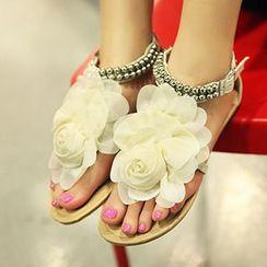 CITTA - Corsage Thong Sandals