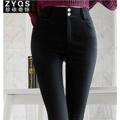 Jenny's Couture - 纯色窄身裤