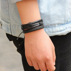 KINNO - Faux Leather Bracelet