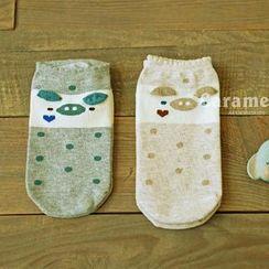 CherryTuTu - Pig Print Socks