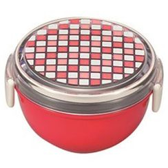 Miyamoto Sangyo - Palette Bowl Lunch Box (Red)