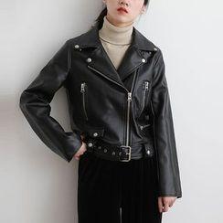 ELLY - 仿皮外套