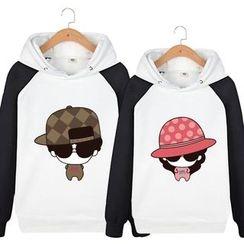 Matcha House - Couple Matching Printed Hoodie