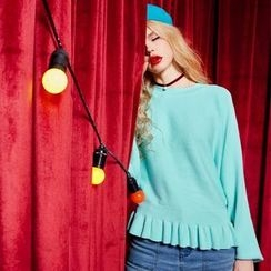 ELF SACK - Ruffled Sweater