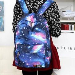 Miss Sweety - Galaxy-Print Backpack
