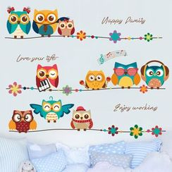 LESIGN - Owl Wall Sticker