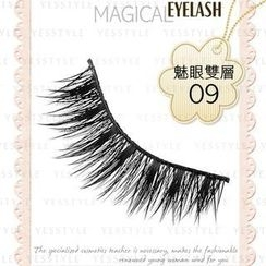 MASUDA KE OF EYELASH - Eyelash (Double Layers) NO.09 (5 pairs)