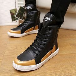 HANO - Panel High-top Sneakers