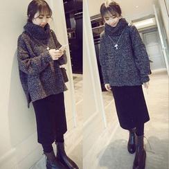 Soraka - 毛衣半裙套装