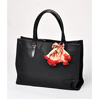 59 Seconds - Scarf-Accent Tote