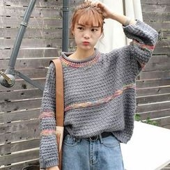 Clair Fashion - Cable Knit Top