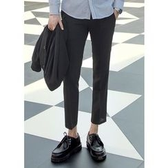 GERIO - Flat-Front Pants