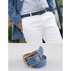 STYLEMAN - Stitched Denim Belt