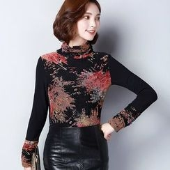 Fancy Show - Floral Pullover