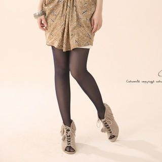 CatWorld - Boy Shorts-Panel Tights