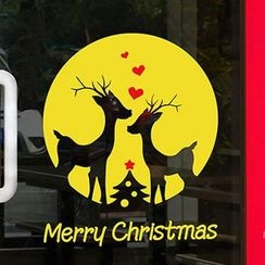 OH.LEELY - Christmas Window Sticker