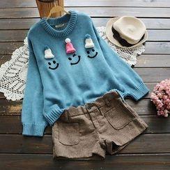 YOYO - Applique Print Sweater