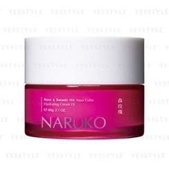 NARUKO - Rose and Botanic HA Aqua Cubic Hydrating Cream EX