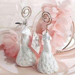 Mulin Arts & Crafts - 婚禮桌面卡片夾