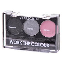 Collection Work The Colour - Work The Colour Trio Eye Shadow #3 Smoke Screen