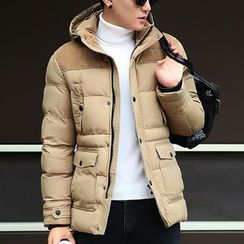 Bay Go Mall - Hooded Padded Jacket