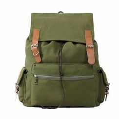 Miss Sweety - Belted Canvas Backpack