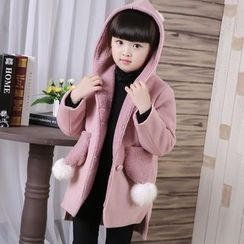 Famula - Kids Fleece-Lined Hooded Coat