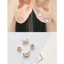 soo n soo - Set of 4: Earrings