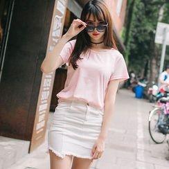 微米家 - 纯色短袖T恤