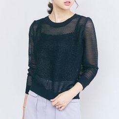 AC - Sheer Knit Top