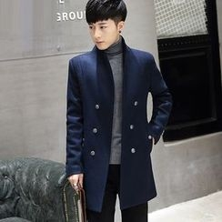 Fusuma - Woolen Long Coat
