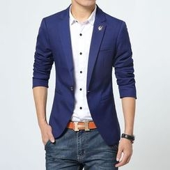 Bay Go Mall - Single Button Blazer