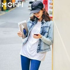 MOFFI - Washed Denim Jacket