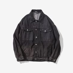 Alvicio - Gradient Denim Jacket