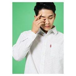 HOTBOOM - Cotton Stripe Shirt